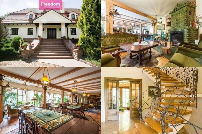 Oto trzy najbardziej luksusowe domy z naszego regionu wystawione na na sprzedaż na portalu gratka.pl. Zobaczcie, czym kuszą potencjalnych nabywców. Jest