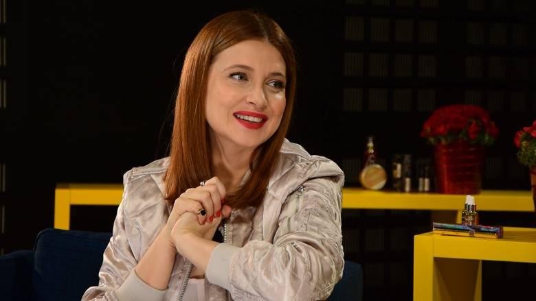"""Gościem naszego programu """"Kosmetyczka gwiazd"""" była aktorka Ada Fijał"""