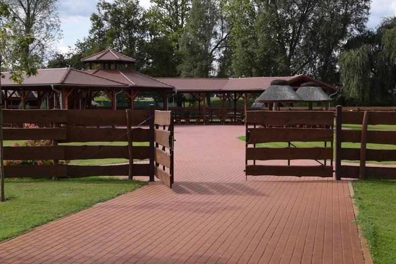 Park Krasnala w Nowej Soli jesienią. <br /> Miejsce to będzie czynne przez cały rok. Nieczynna będzie sala zabaw.