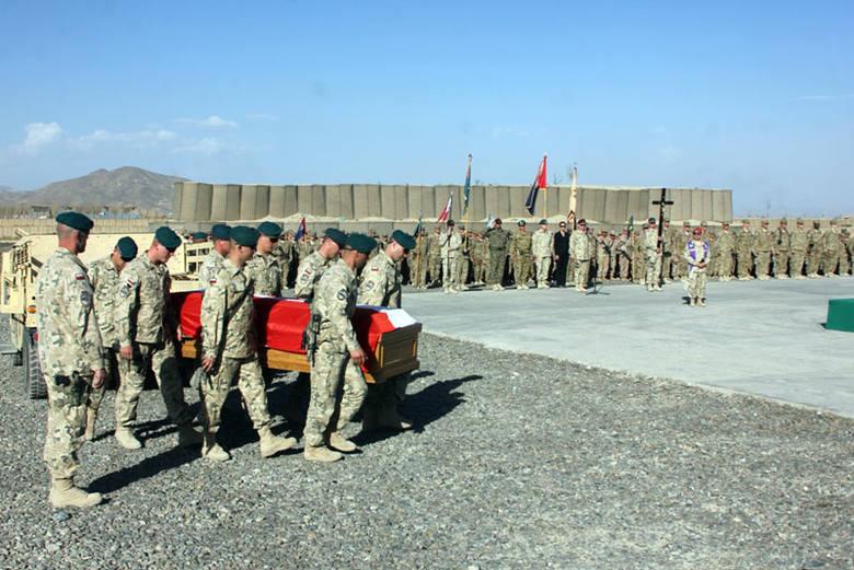 Pożegnanie polskiego żołnierza w Ghazni [ZDJĘCIA]