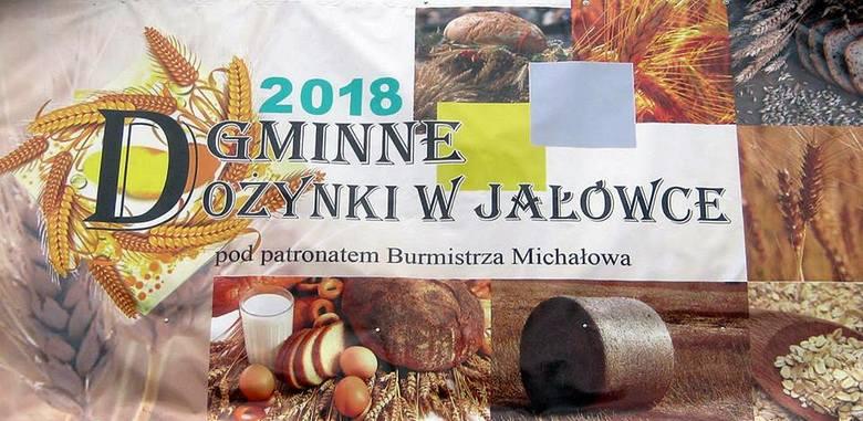 Dożynki 2018 w Jałówce