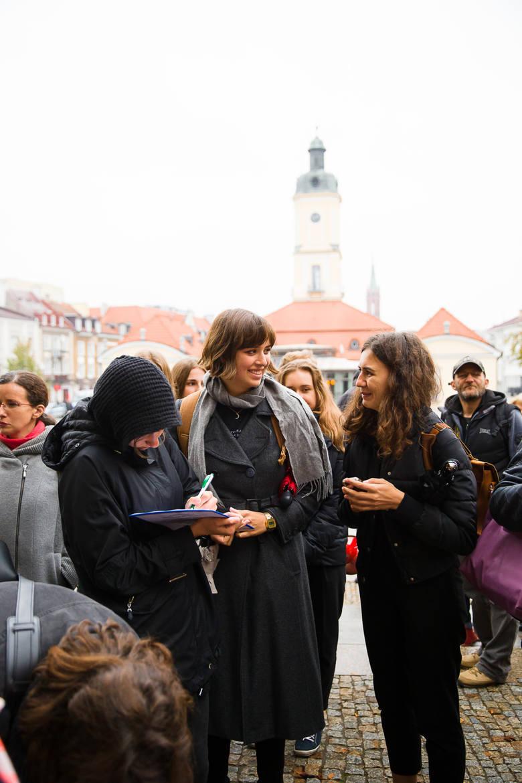 Czarny wtorek 2017. Młodzież Wszechpolska zakłóciła protest kobiet