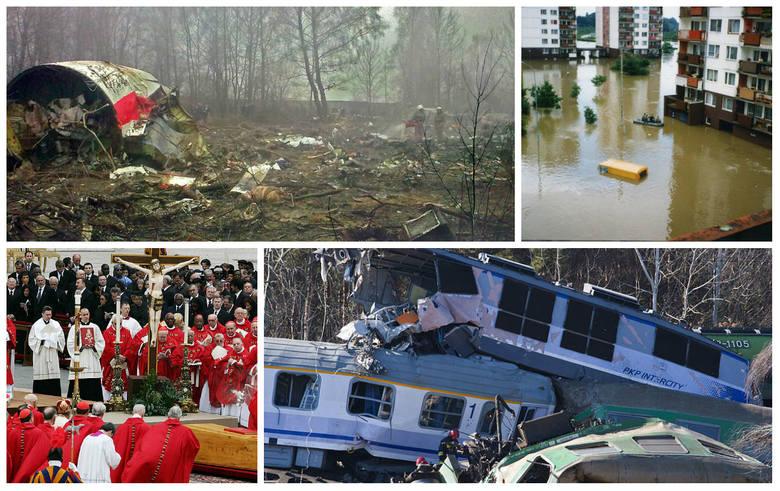 W Polsce od 1924 r. do 16 lutego 2019 r. 28-krotnie ogłaszano żałobę narodową, aby w ten sposób uczcić pamięć ofiar katastrof i klęsk żywiołowych lub