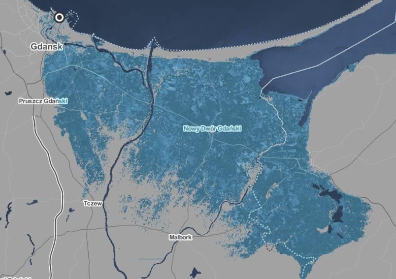 Podniesienie poziomy wody w Morzu Bałtyckim o 0,5 metra