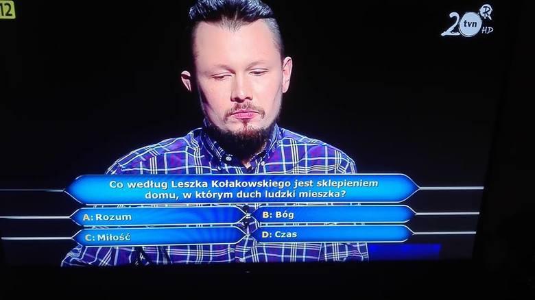 Milionerzy TVN. Tak brzmiało pytanie za milion złotych