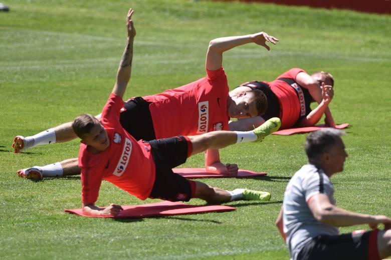 Na zdjęciu: trening reprezentacji Polski