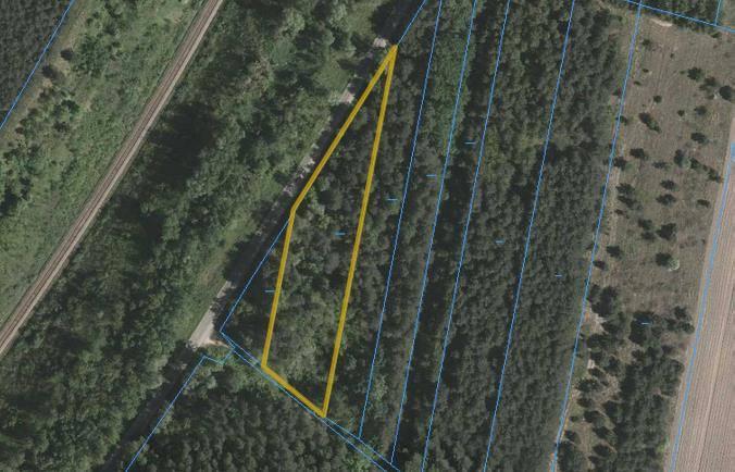 Działka o pow. 2966,00 m2 leży przy skrzyżowaniu, w odległości około 300 metrów na południe od ulicy Krzeszowskiej w Zarzeczu k. Niska oraz około 70