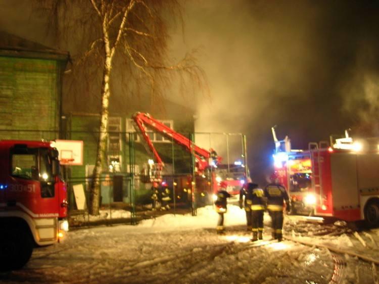 Dwaj strażacy, którzy pijani gasili pożar, sami złożyli podania o odejście ze służby (zdjęcia)
