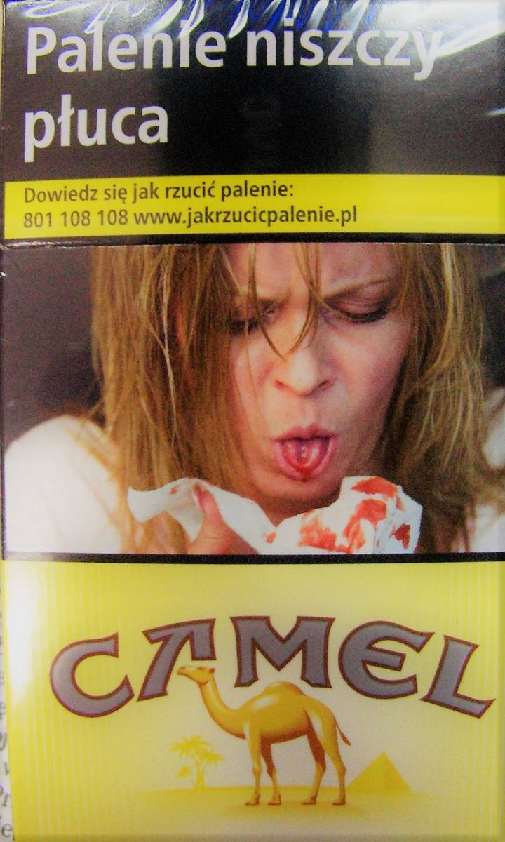 Szokujące obrazkowe ostrzeżenia na opakowaniach papierosów to jeden ze sposób zniechęcenia do palenia.