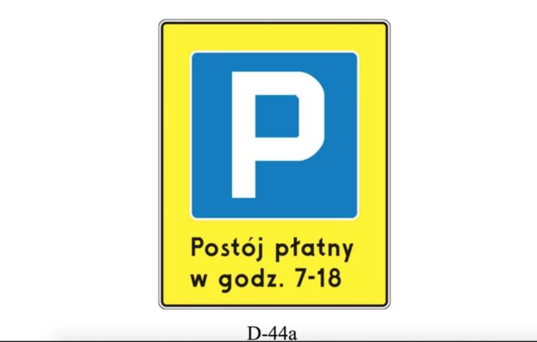 Śródmiejska strefa płatnego parkowania - to nowy znak, który oznacza wjazd do płatnej strefy. Analogicznie pojawi się wyjazd ze śródmiejskiej strefy