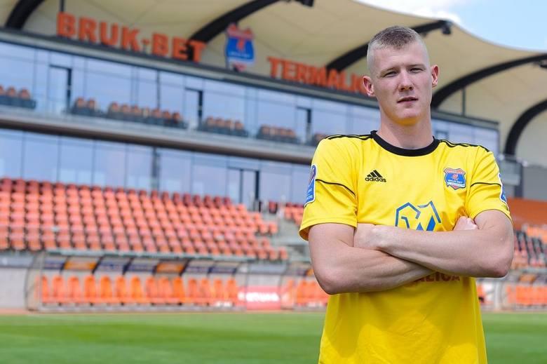 Dominik Kąkolewski ostatnio grał w Wigrach Suwałki