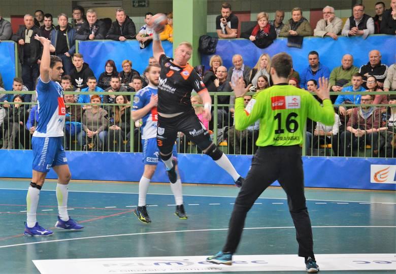 PGNiG Superliga. SPR Stal Mielec postawiła się wicemistrzom Polski. Mocy starczyło na pierwszą połowę [ZDJĘCIA, RELACJA]