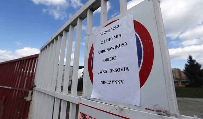 Stadion Resovii jest zamknięty na cztery spusty.
