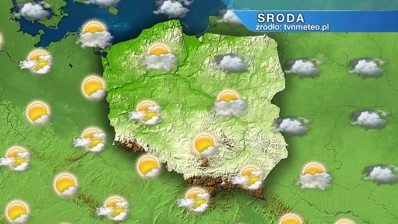 Pogoda na środę, 3 marca. Środa zimna na Suwalszczyźnie i wiosenna na Dolnym Śląsku. Od piątku ochłodzenie w całym kraju