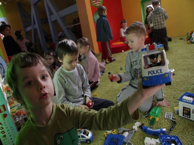 Otwarcie sali Lego w Przedszkolu w Zielonej Górze