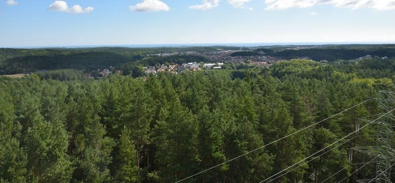 Gdynia. Taras widokowy na górze Donas dostępny dla mieszkańców już od 15 lat. To najwyższe wzniesienie w Gdyni i całym Trójmieście ZDJĘCIA