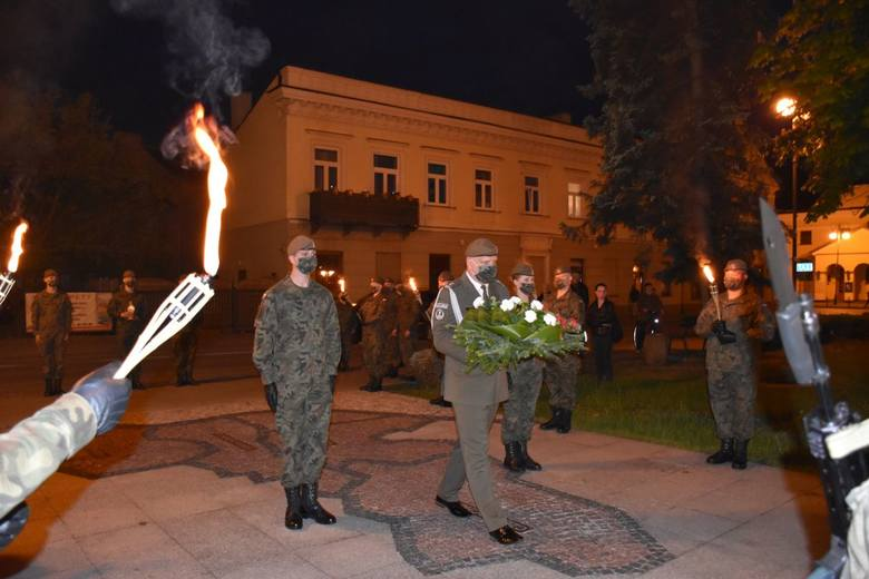 Radomscy żołnierze Obrony Terytorialnej uczcili pamięć swojego patrona - rotmistrza  Witolda Pileckiego