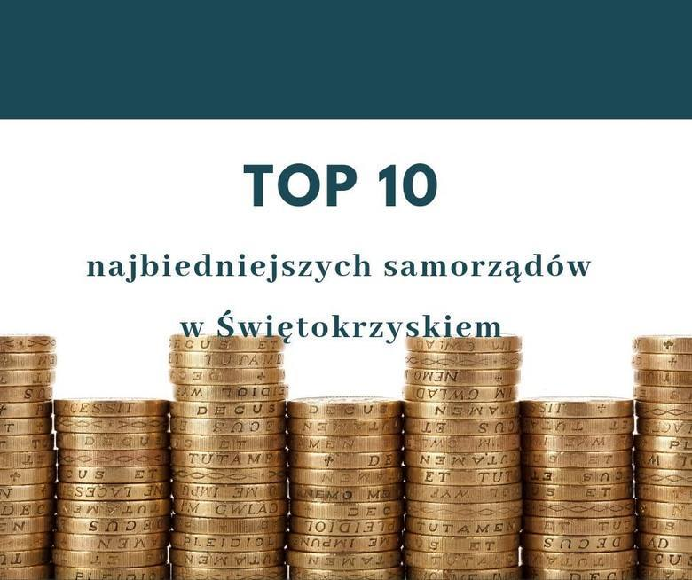 """Poznaliśmy najbiedniejsze gminy województwa świętokrzyskiego. W rankingu czasopisma """"Wspólnota"""" najbiedniejszy w regionie jest Tarłów, który w całym"""