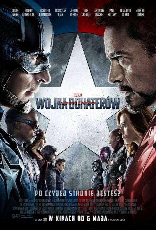 OBSADA:Steve Rogers / Kapitan Ameryka - Chris EvansTony Stark / Iron Man - Robert Downey Jr.Natasha Romanoff / Czarna Wdowa - Scarlett JohanssonBucky