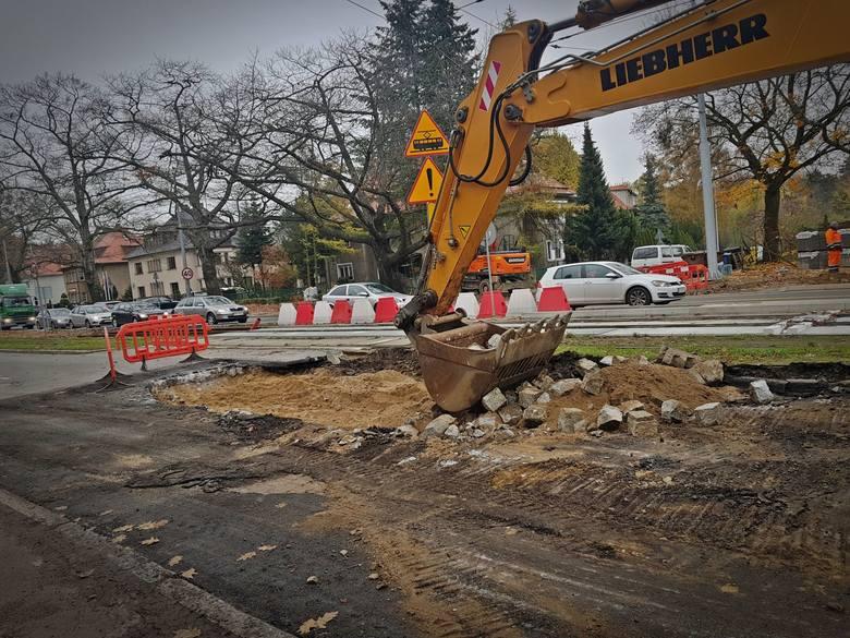Budowa Węzła Łękno w Szczecinie. Tym razem mamy ZDJĘCIA z lotu ptaka - 21.11.2019