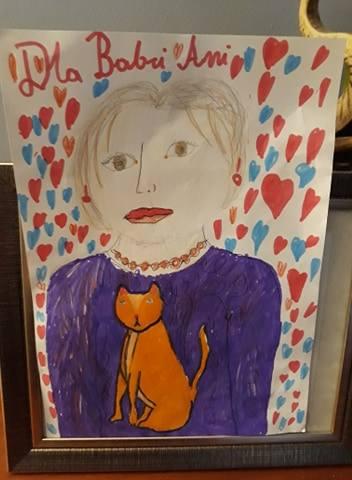 Anna Gabryelów: Tak widzi mnie moja wnuczka Hania i to będzie najlepsza wizytówka. Mam trzy koty i noszę czerwone kolczyki i korale.