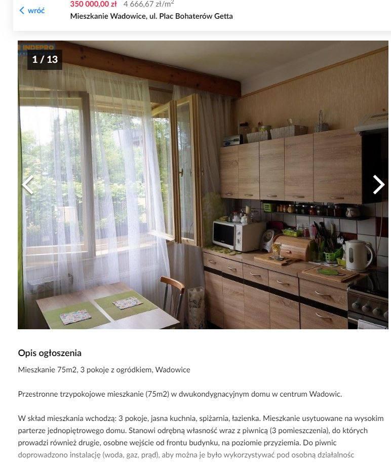 Zobacz najtańsze mieszkania w Małopolsce Zachodniej, które wystawiono na sprzedaż