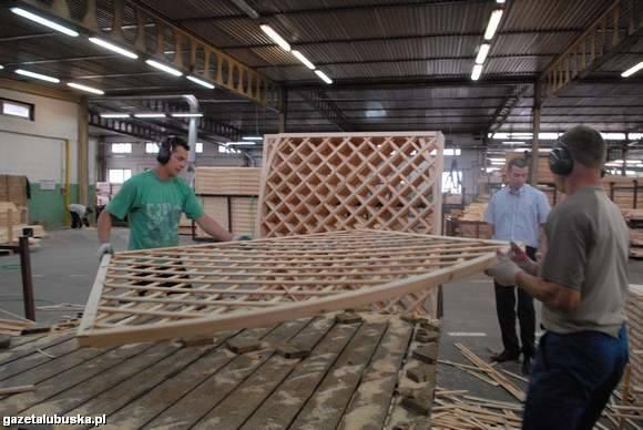 (fot. Mariusz Kapała) Stelmet też ma w strefie swoje fabryki. Firma produkuje elementy ogrodowe.