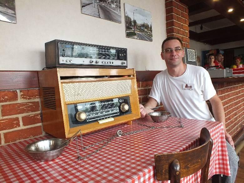 Bar mleczny Miś w Starachowicach bije rekordy popularności Coś dla wielbicieli klasyki. Przykręcone do stołu miski i sztućce na łańcuchach prezentuje