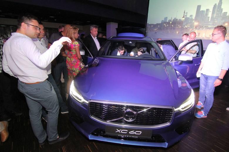 Premiera nowego Volvo XC60. Firma Inter-Car Bielany Autoryzowany Dealer Volvo zaprezentował nowy model na Stadionie Wrocław