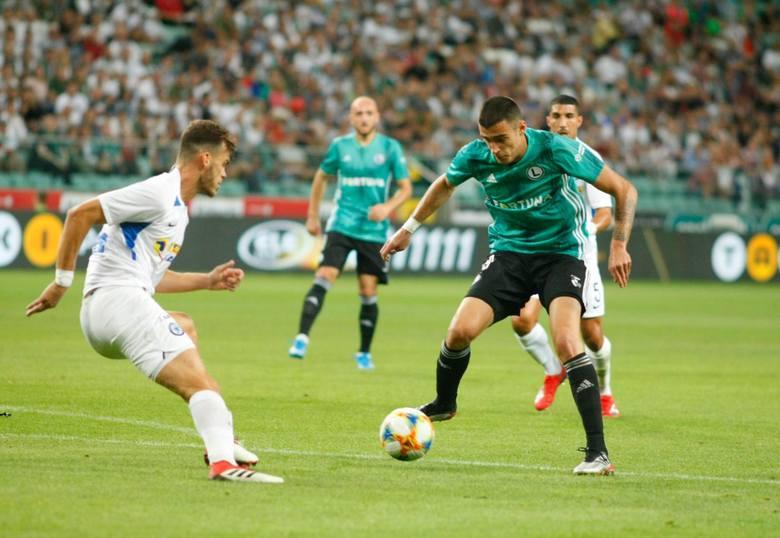 Legia Warszawa w pierwszym meczu z Atromitosem bezbramkowo zremisowała.