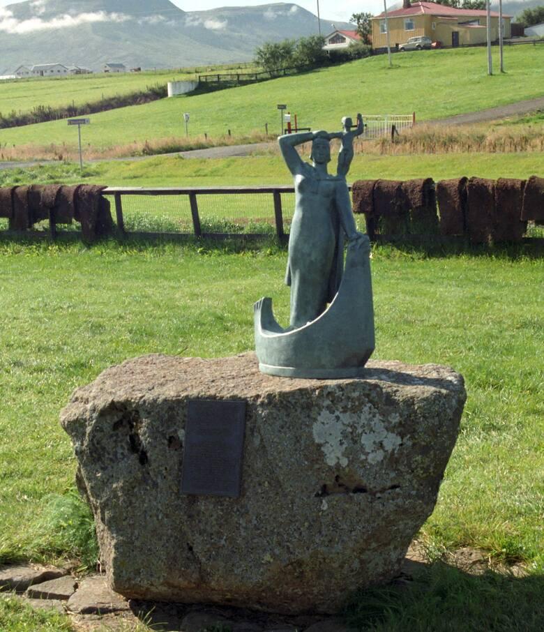 Gudridur Thorbjarnardottirur. ok. 980Znana odkrywczyni z X wieku, urodzona na Islandii.Postać Gudridur nie bez powodu pojawia się w islandzkich sagach.