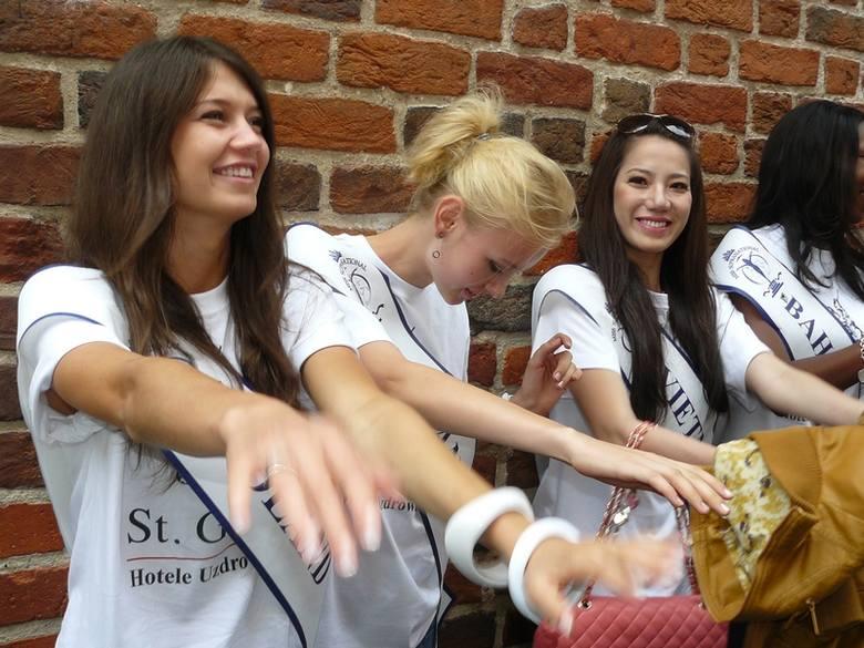 Najpiękniejsze kobiety świata w Toruniu