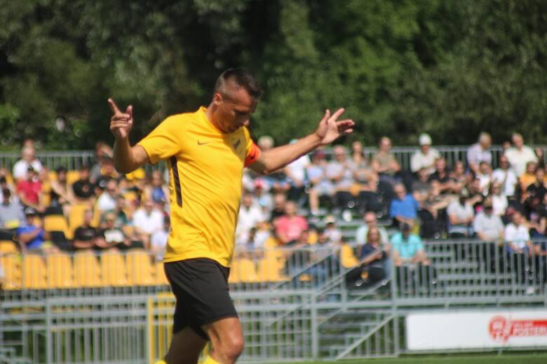 7.08.2021, Kraków: Sławomir Peszko podczas meczu Wieczysta - Clepardia Kraków