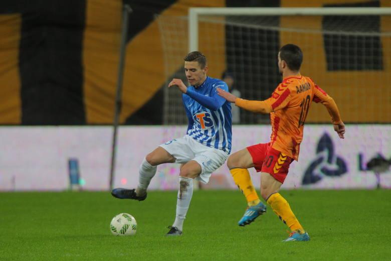 Bednarek w meczu z Lechią Gdańsk