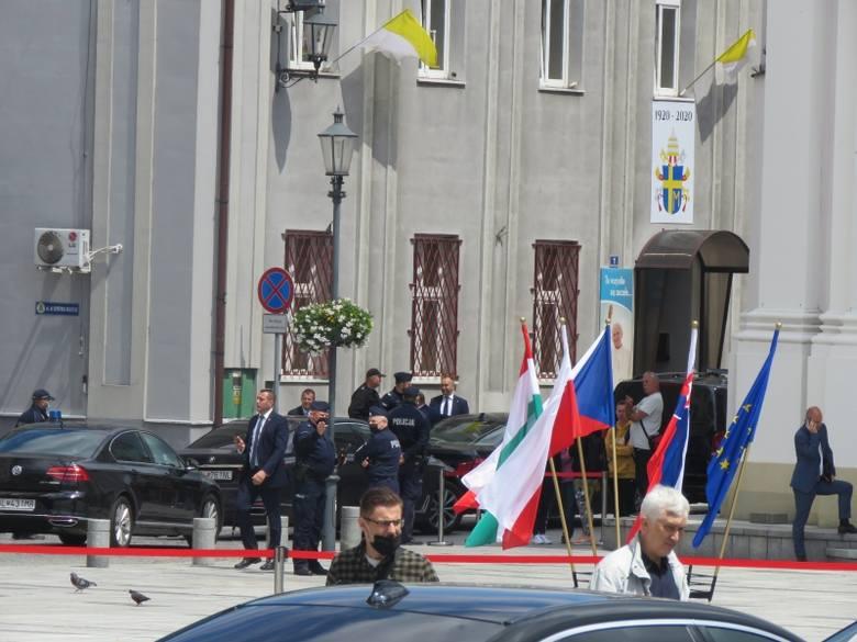 Ministrowie spraw zagranicznych Polski, Węgier, Czech i Słowacji spotykali się w Wadowicach.
