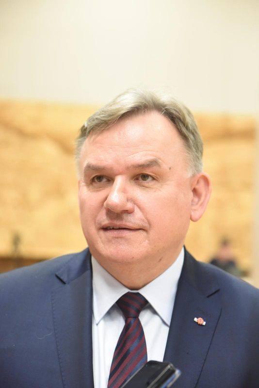 Radny województwa z ramienia Prawa i Sprawiedliwości Marek Surmacz z Gorzowa Wlkp.