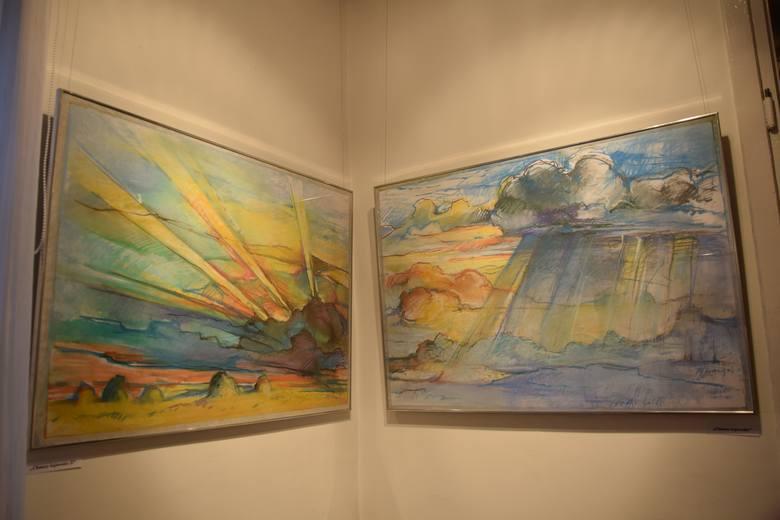 Pastele Małgorzaty Iwanowskiej-Ludwińskiej, toruńskiej artysty, a także pisarki i poetki można od dziś oglądać w  Muzeum Stanisława Noakowskiego w Nieszawie.