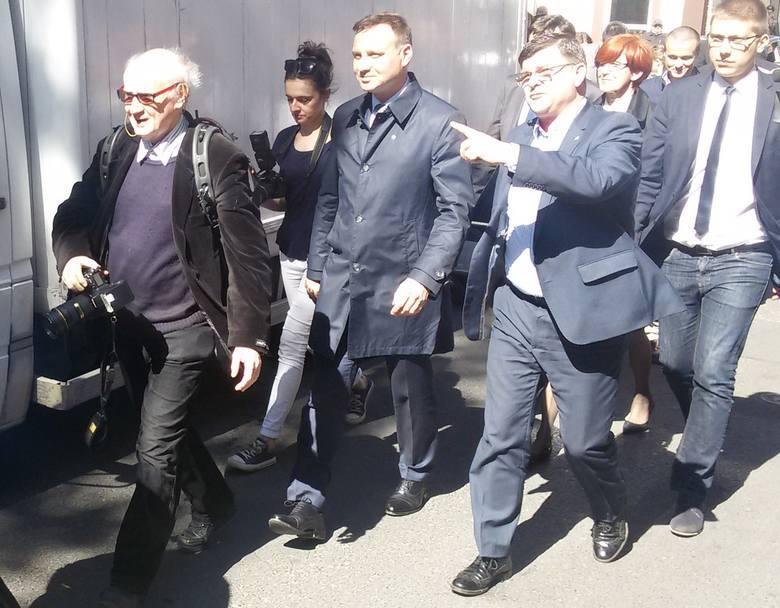 Zdjęcia z poprzednich wizyt prezydenta Andrzeja Dudy w Lubuskiem
