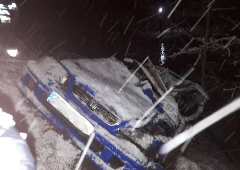 Do tego wypadku doszło w czwartek wieczorem na przejeździe kolejowym w miejscowości Rudniki (gmina Raczki).