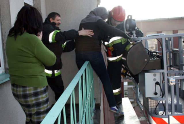 Pierwszy wóz strażacki przybył już po czterech minutach