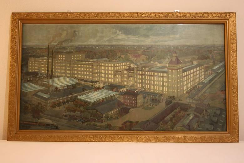 Pamiątki z dawnej fabryki nici Odra w nowej Soli