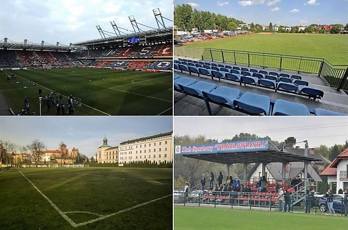 Stadiony Krakowa. Wiecie, że jest ich aż tyle?! Zobaczcie wszystkie [ZDJĘCIA]