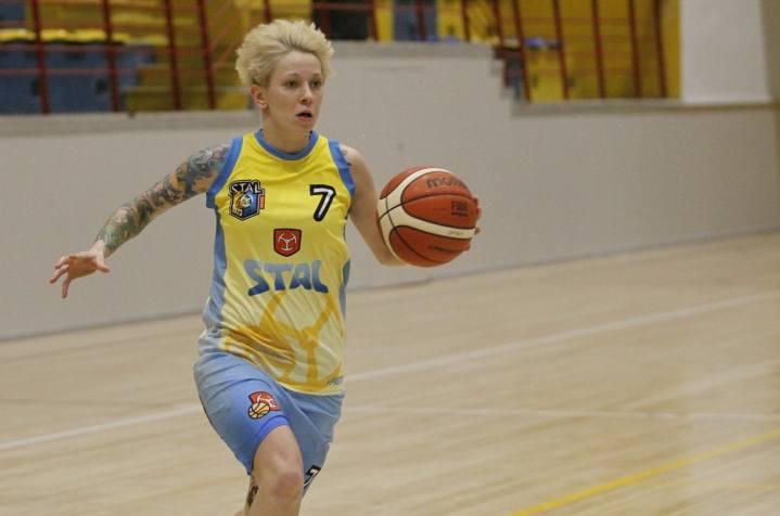 Martyna Mićków zdobyła w meczu z Liderem 11 punktów.