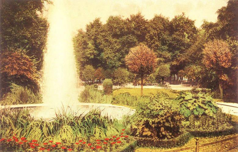 Fontanna w parku przy ulicy Henryka Sienkiewicza
