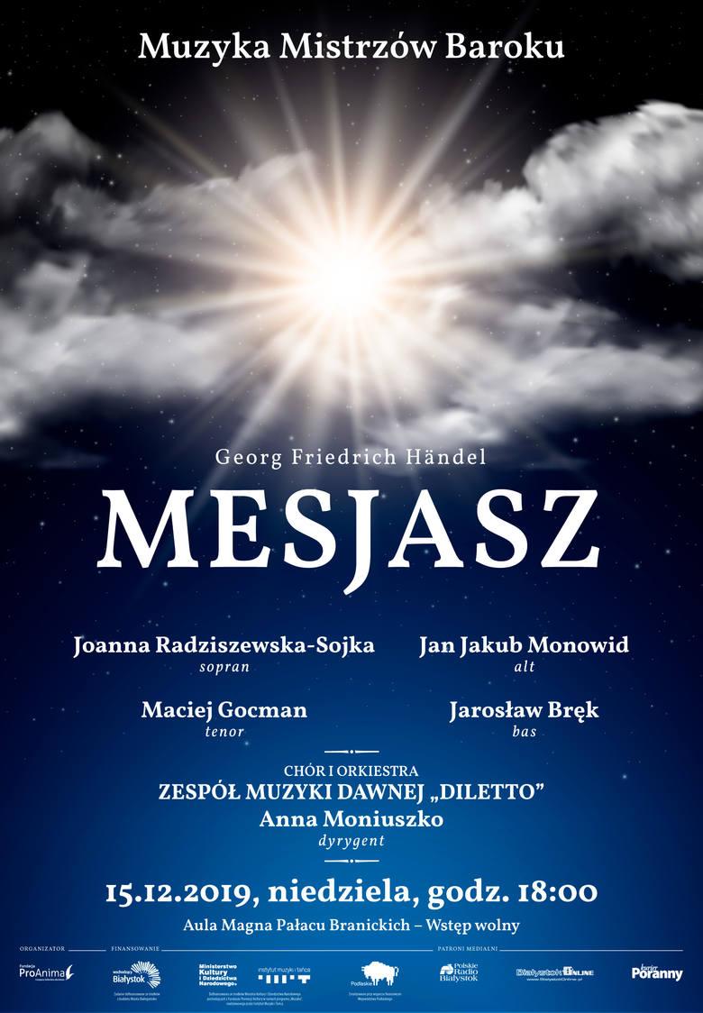 Mesjasz Handla zabrzmi w Auli Magna Pałacu Branickich w niedzielę, 15 grudnia
