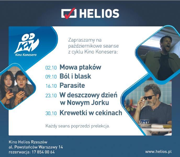 Kino Helios w Rzeszowie zaprasza w ramach cyklu Kina Konesera na film MOWA PTAKÓW