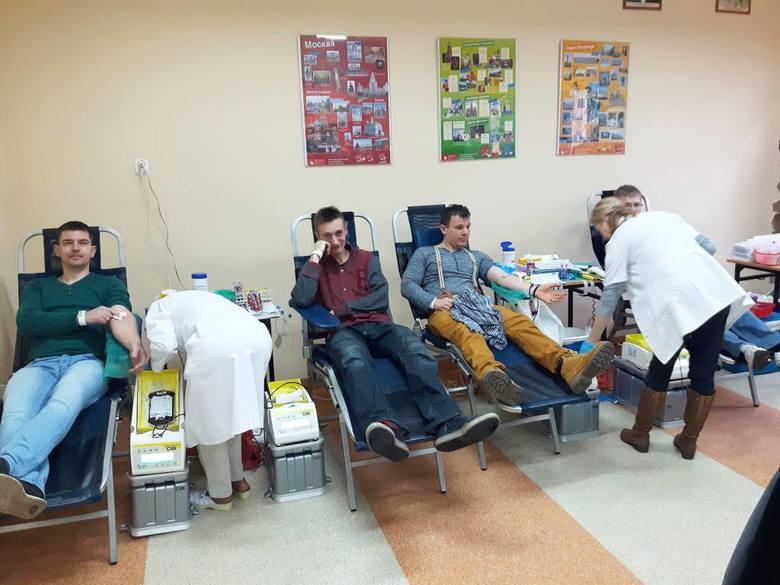 Już po raz 9. zorganizowano w Centrum Kształcenia Ustawicznego im. Stefana Żeromskiego w Inowrocławiu akcję krwiodawstwa. Odbyła się ona w sobotę, 12