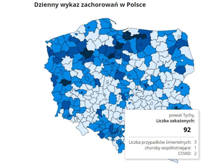 Koronawirus na Śląsku. W środę 3 marca odnotowano ogromny wzrost liczby zakażeń COVID-19. W ciągu minionej doby potwierdzono aż 15 698 nowych przypadków