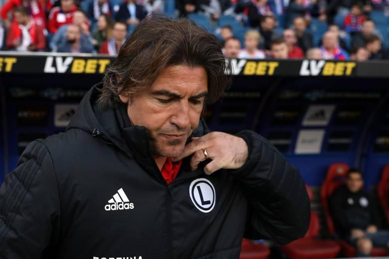 Ricardo Sa Pinto już nie jest trenerem Legii