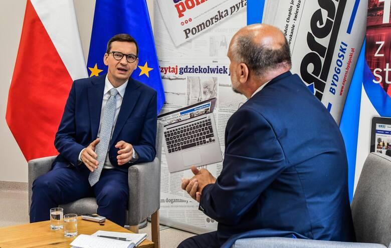 - Zapora w Siarzewie będzie budowana, ale na razie spowalniana jest przez bardzo trudne wymogi środowiskowe - deklaruje premier Morawiecki.